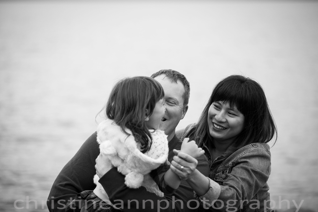 Family of three family photography session Duluth MN North Shore.