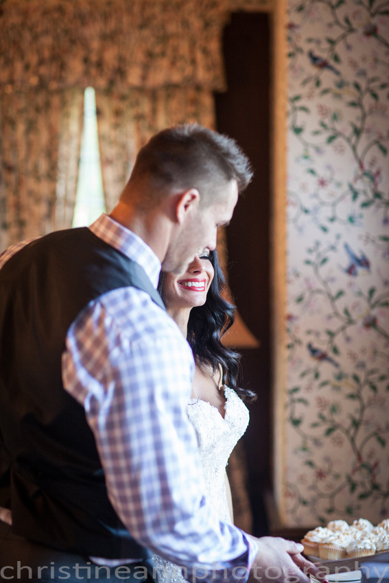 Duluth MN wedding at Womans Club near North Shore Lake Superior with red and white colors.