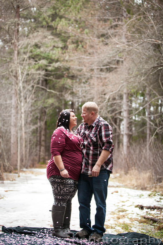 Couples maternity gender reveal hartley  nature center Duluth MN photographer