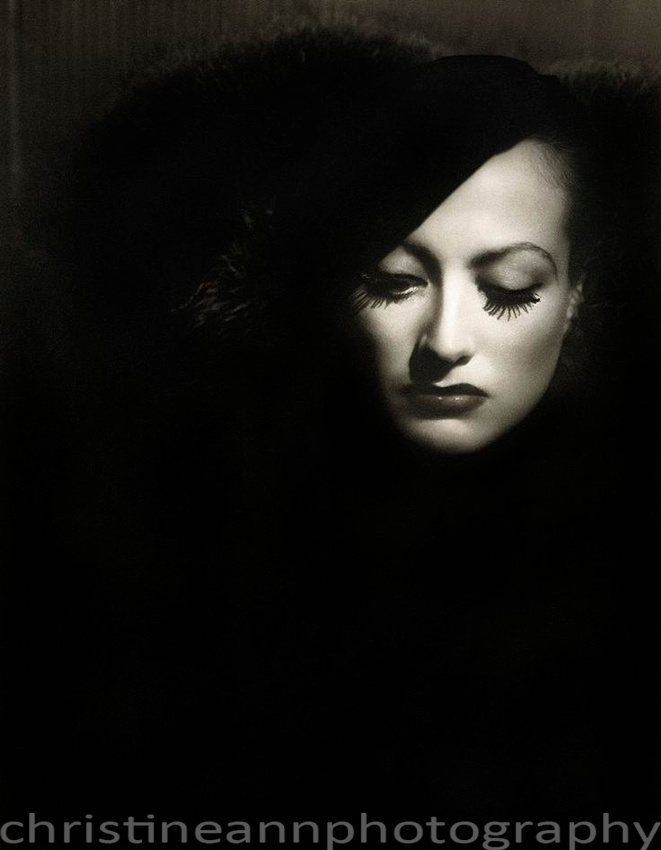 George Hurrell portrait mimic artist photography assignment