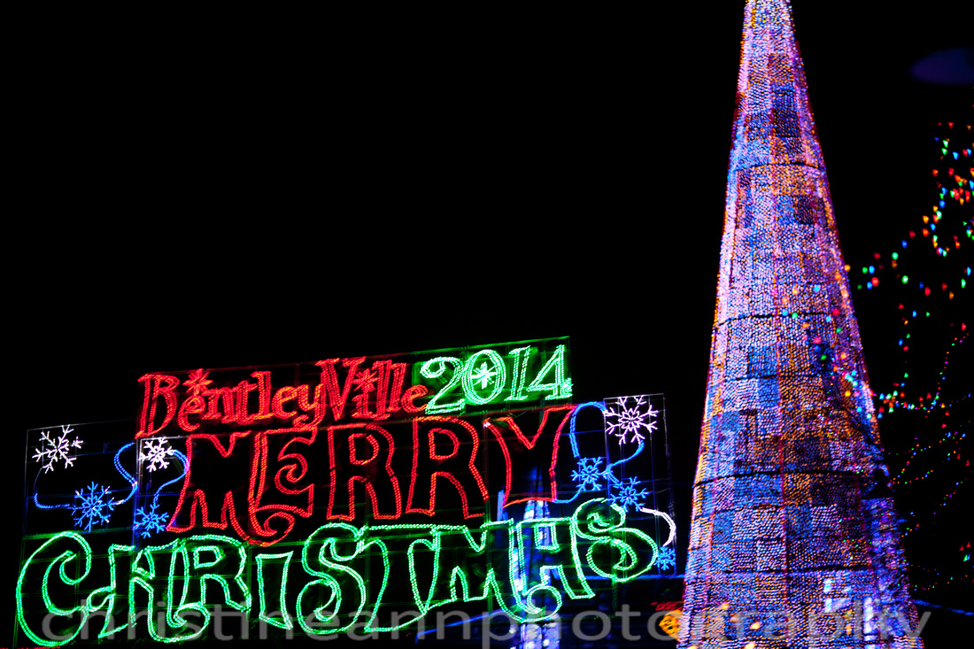 Bentleyville Tour of Lights 2014 Christmas lights display.
