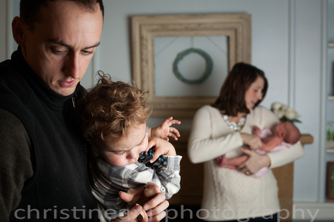 Family newborn photography session Duluth Hermantown Minnesota